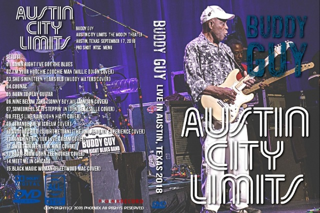 コレクターズDVD Buddy Guy - American Tour 2018