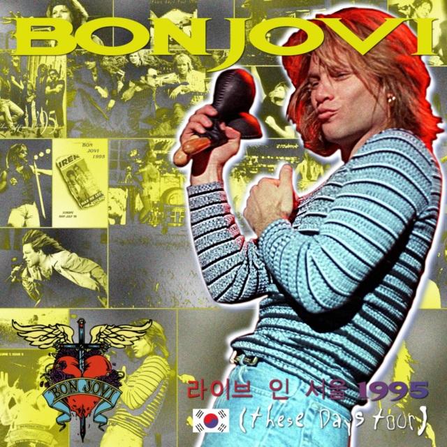 コレクターズCD Bon Jovi- These Days South Korea Show 1995