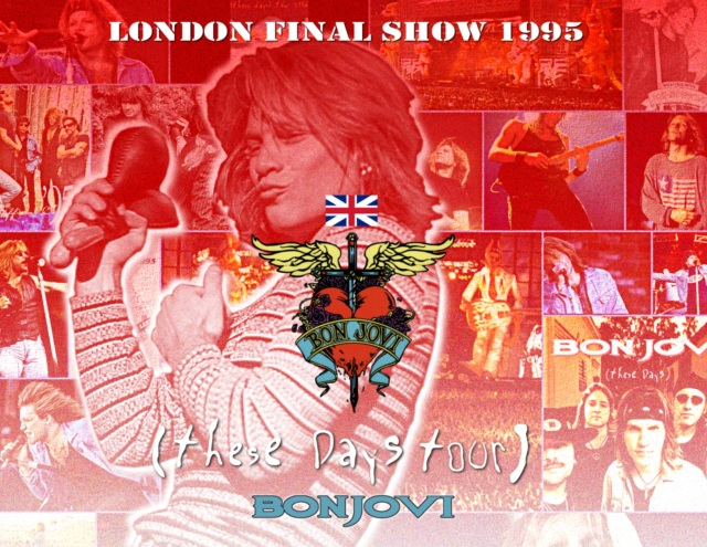 コレクターズCD BonVovj - These Days European Tour 1995