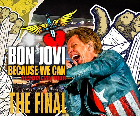 コレクターズCD ボン・ジョヴィ (Bon Jovi) 2013年オーストラリアツアー