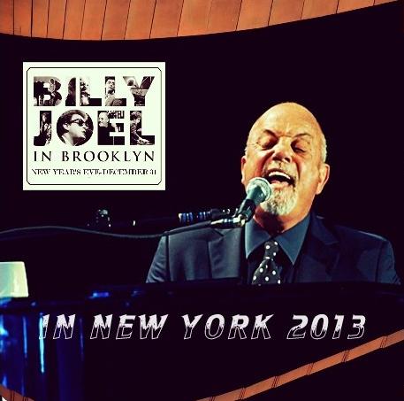 コレクターズCD ビリージョエル2013年12月31日ニューヨーク ブルックリン