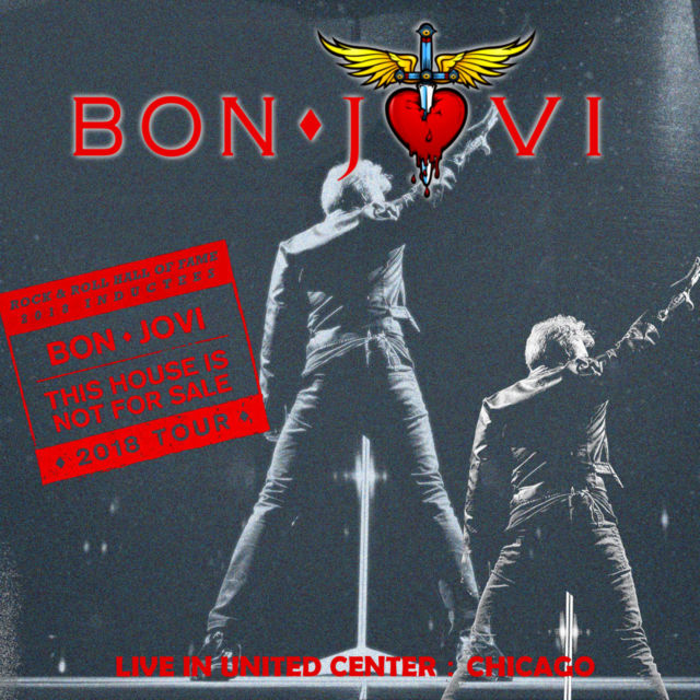 コレクターズCD Bon Jovi - This House Is Not for Sale Tour 2018