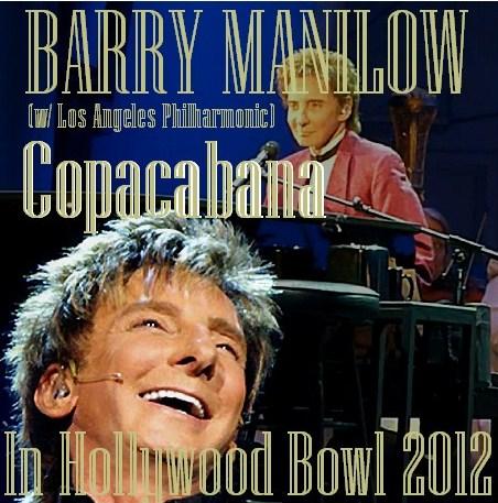 コレクターズCD バリー・マニロウ(Barry Manilow)2012年アメリカツアー