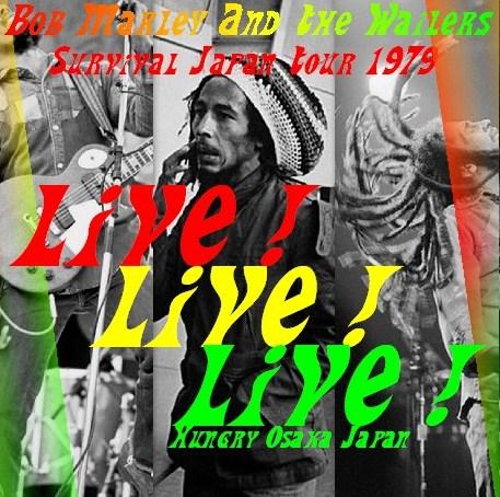 コレクターズCD ボブ・マーリー(Bob Marley 1979年日本公演 大阪厚生年金会館)