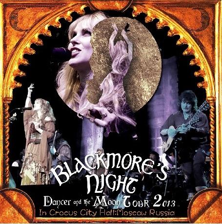 コレクターズCD ブラックモアズ・ナイト (Blackmore's Night) 2013年ヨーロッパツアー(Dancer and the Moon Tour)