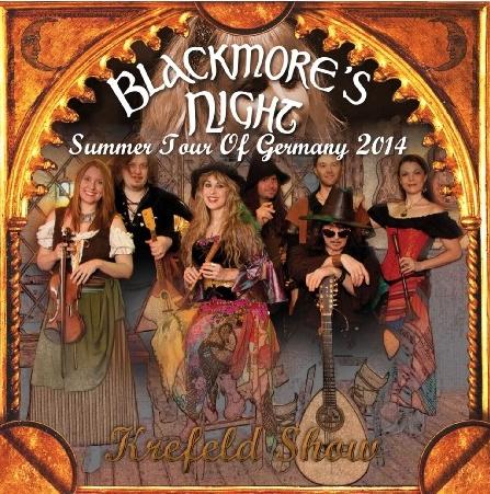コレクターズCD ボストン Blackmore's Night(ブラックモアズ・ナイト)2014年ヨーロッパツアー