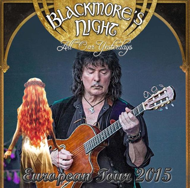 コレクターズCD Blackmore's Night(ブラックモアズ・ナイト)2015年ヨーロッパツアー