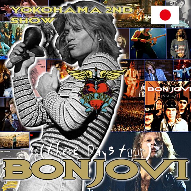 コレクターズCD ボンジョビ 1996年日本公演