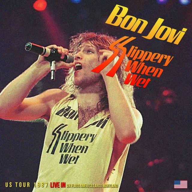 コレクターズCD Bon Jovi - Slippery When Wet Tour 1987