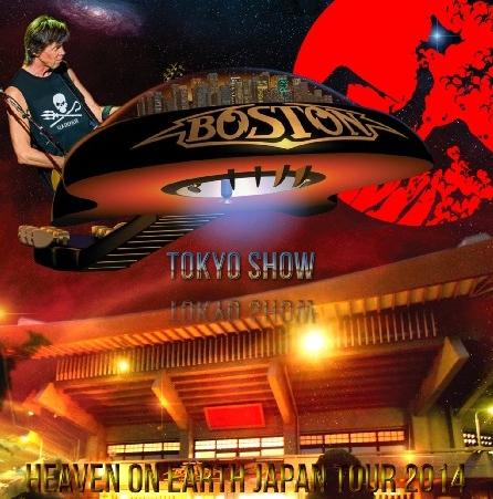 コレクターズCD ボストン 2014年日本公演 Heaven On Earth Japan Tour 2014