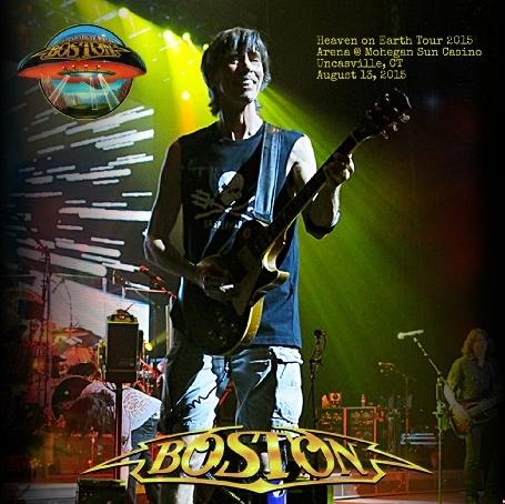 コレクターズCD ボストン 2015年 ワールドツアー