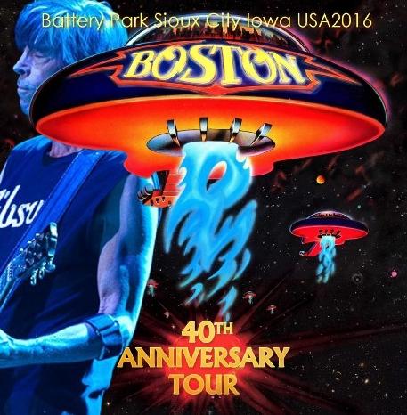 コレクターズCD ボストン2016年 40周年記念ツアー(40th Anniversary Tour)
