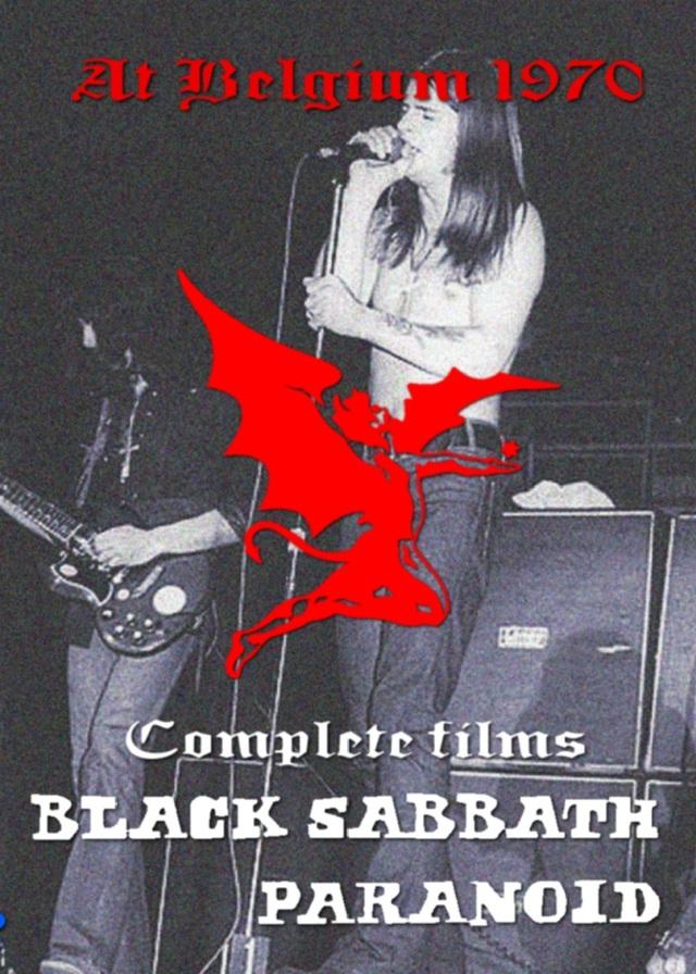 コレクターズDVD Black Sabbath - Paranoid Tour 1970