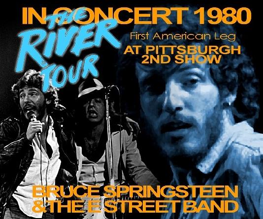 コレクターズCD ブルーススプリングスティーン 1980年アメリカツアー(The River Tour)