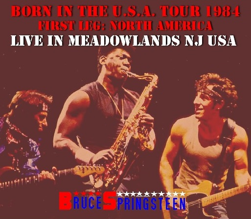コレクターズCD Bruce Springsteen - Born In The USA Tour 1984