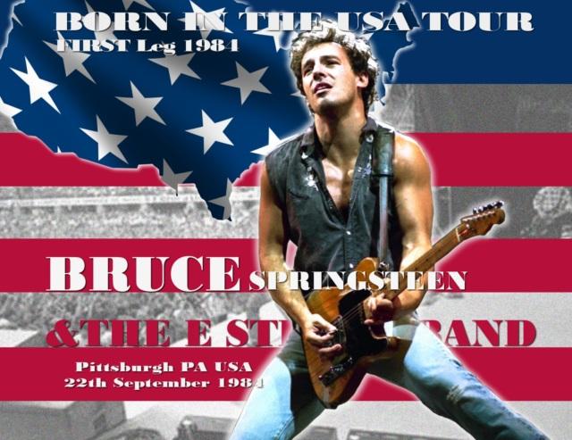 コレクターズCD Bruce Springsteen - Born in the U.S.A. Tour 1984