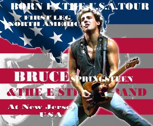コレクターズCD ブルース・スプリングスティーン 1985年アメリカツアー