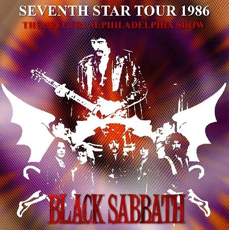 コレクターズCD ブラックサバス1986年 セブンスターツアー