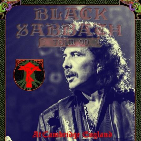 コレクターズCD ブラックサバス1990年ヨーッロッパツアー Tyr Tour 1990