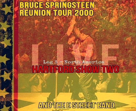 コレクターズCD ブルース・スプリングスティーン 2000年アメリカツアー(Reunion Tour)