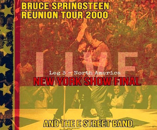 コレクターズCDブルース・スプリングスティーン 2000年アメリカツアー Reunion Tour