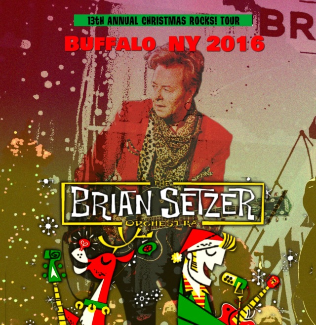 コレクターズCD Brian Setzer Orchestra - Christmas Rocks! 2016
