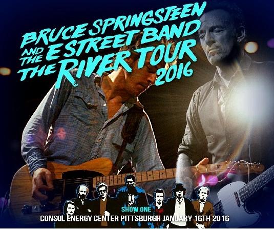 コレクターズCD ブルース スプリングスティーン (The River Tour 2016)