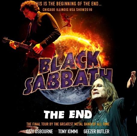 コレクターズCD ブラックサバス 2016年ファイナルツアー(The End Tour 2016)