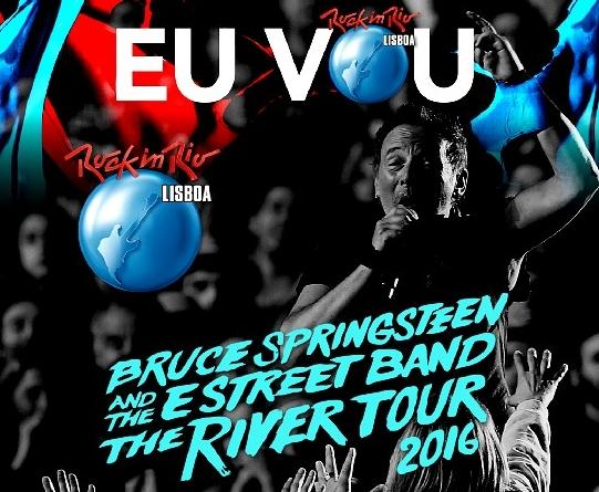 コレクターズCD ブルース スプリングスティーン (The River Tour 2016) [Rock In Rio Lisboa]
