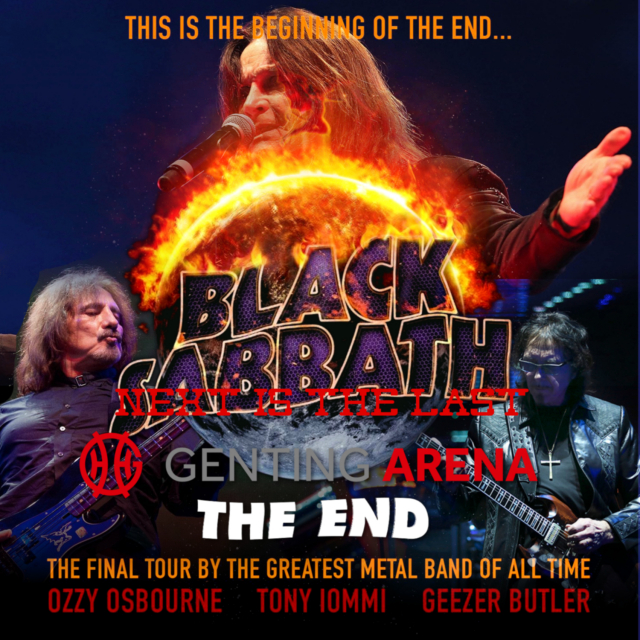 コレクターズCD ブラックサバス 2017年 The End Tour