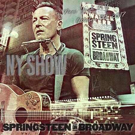 コレクターズCD ブルース スプリングスティーン (Springsteen on Broadway Tour2017)