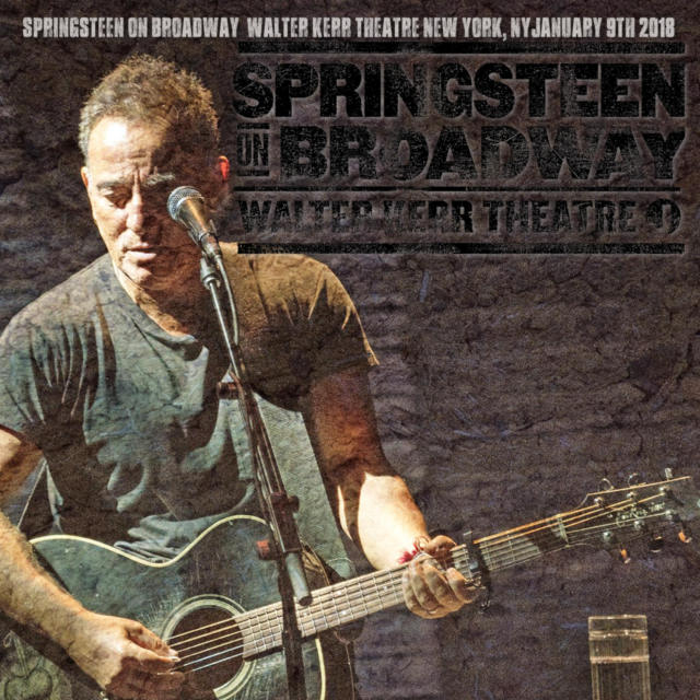 コレクターズCD Bruce Springsteen on Broadway 2018
