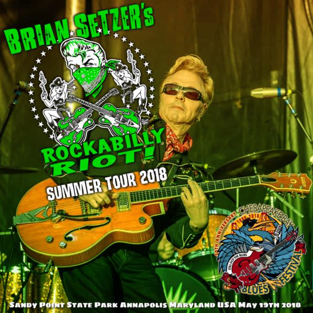 コレクターズCD Brian Setzer - Brian Setzer's Rockabilly Riot 2018