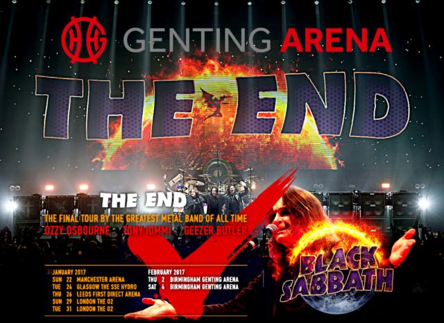 コレクターズCD ブッラク サバス 2017年 The End Tour