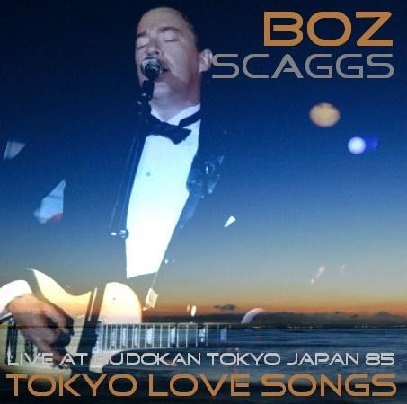 コレクターズCD Boz Scaggs(ボズ・スキャッグス) 85年日本公演