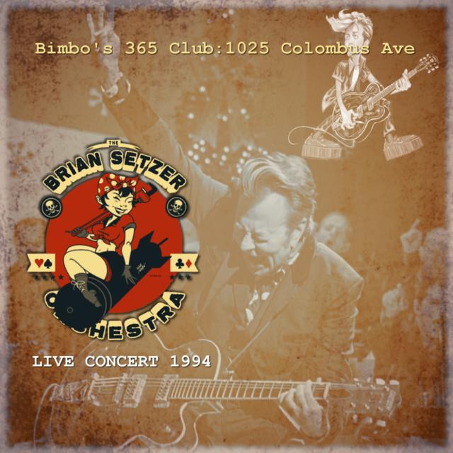 コレクターズCD Brian Setzer Orchestra - USA Tour 1994