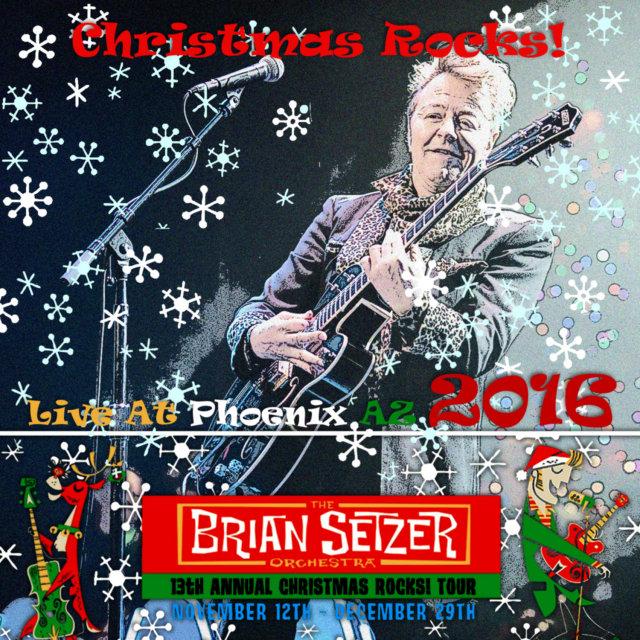 コレクターズCD ブライアン・セッツァー・オーケストラ 2016年アメリカ (Christmas Rocks! 2016 )