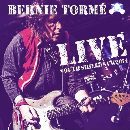 コレクターズCD バーニー・トーメ(Bernie Torme)2014年5月2日イギリス サウス・シールズ