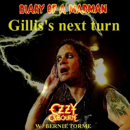 Ozzy Osbourne w/ BERNIE TORME Diary of a Madman tour82/ Rochester82.4.10