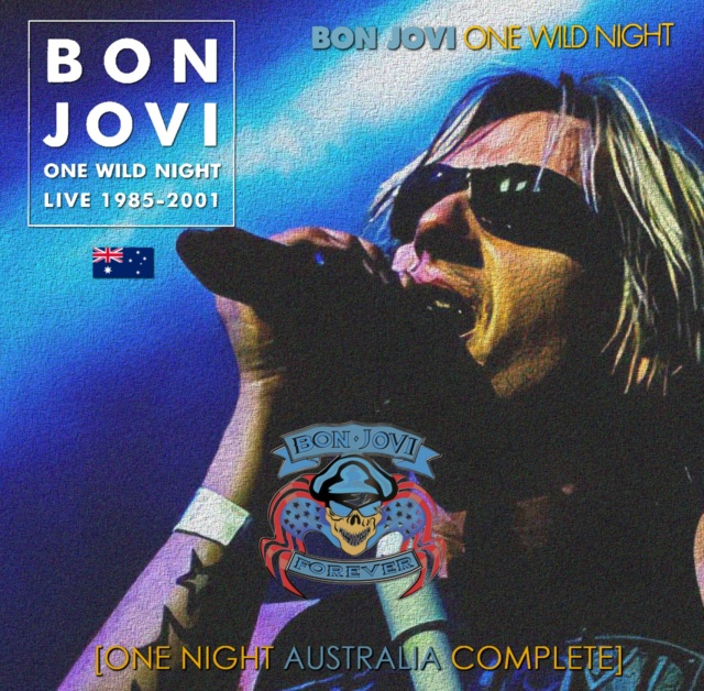 コレクターズCD Bon Jovi - One Wild Night Tour 2001