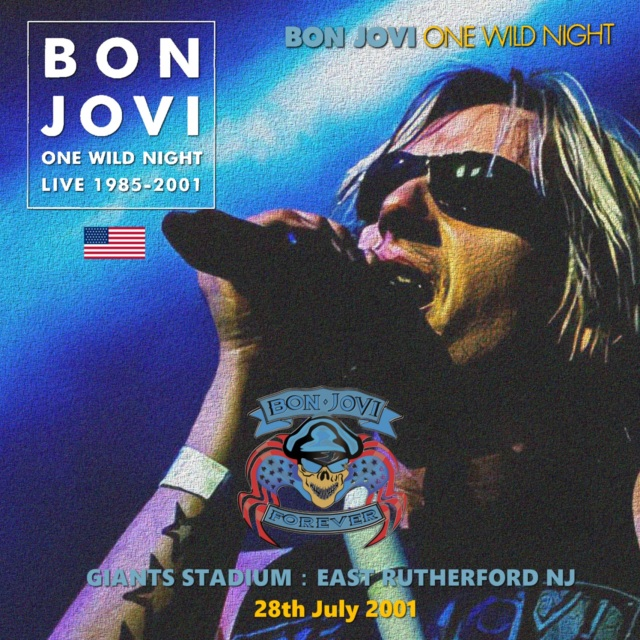 コレクターズCD Bon Jovi - One Wild Night Tour 2001