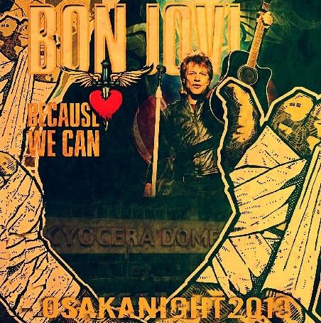 コレクターズCD ボン・ジョヴィ (Bon Jovi) 2013年日本公演 京セラドーム
