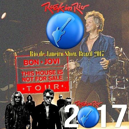 コレクターズCD ボン・ジョヴィ 2017年南米ツアー [Rock in Rio 7]