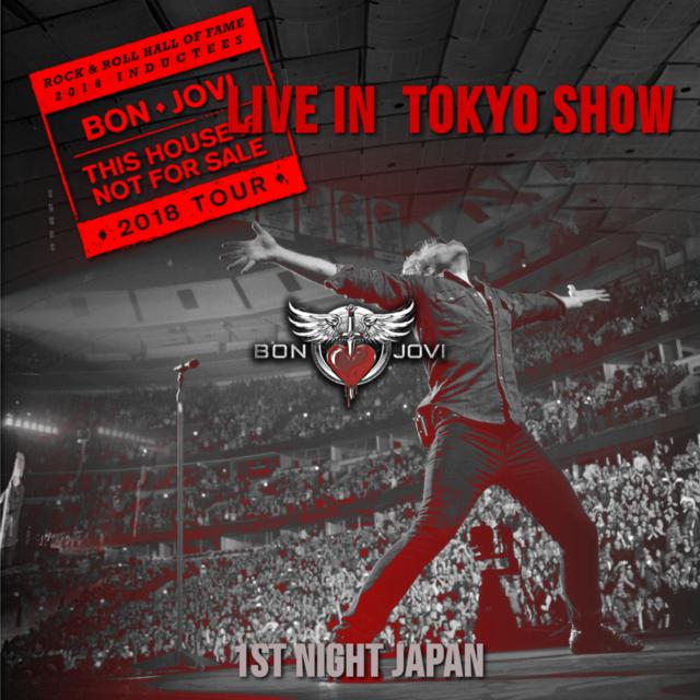 コレクターズCD ボンジョビ2018年日本公演
