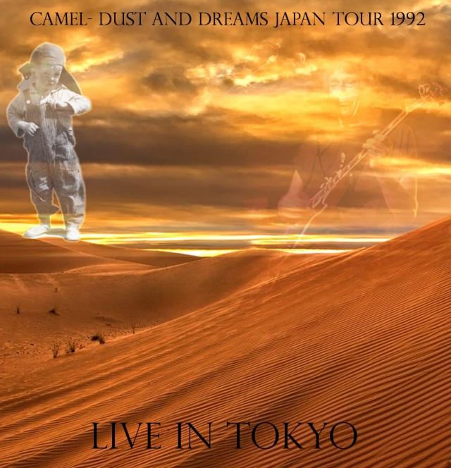 コレクターズCD Camel - Dust and Dreams Japan Tour 1992