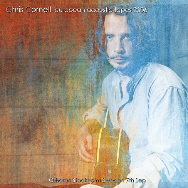 コレクターズCD Chris Cornell - European  acoustic tapes 2006