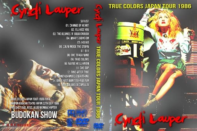 コレクターズDVD シンディーローパー 1986年日本公演
