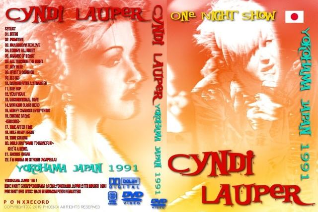コレクターズDVD シンディーローパー 1991年日本公演