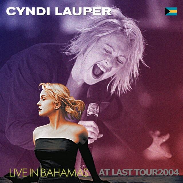 コレクターズCD Cyndi Lauper - At Last Tour 2004