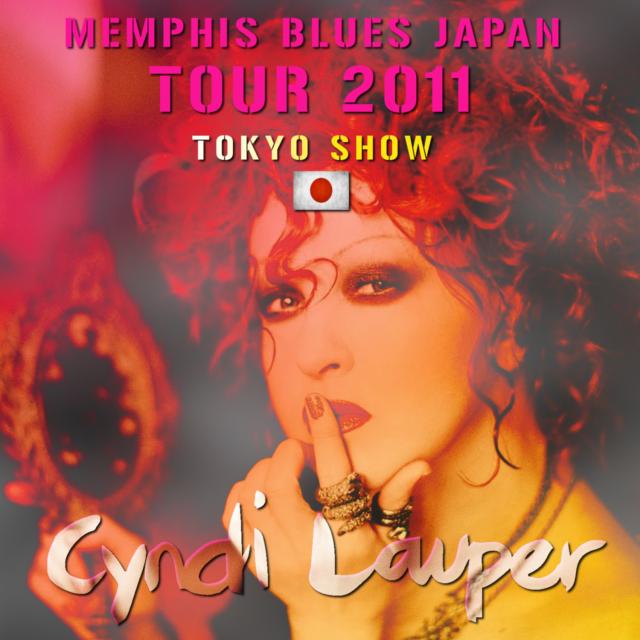 コレクターズCD Cyndi Lauper - Memphis Blues Japan Tour 2011